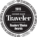 Conde Nast Traveler Readers Choice Award