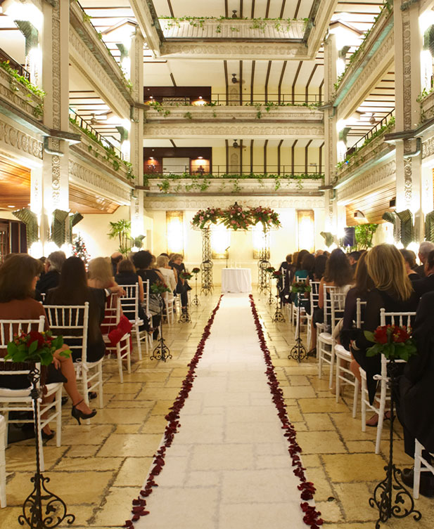 weddings in coconut grove miami florida mayfair hotel. Black Bedroom Furniture Sets. Home Design Ideas