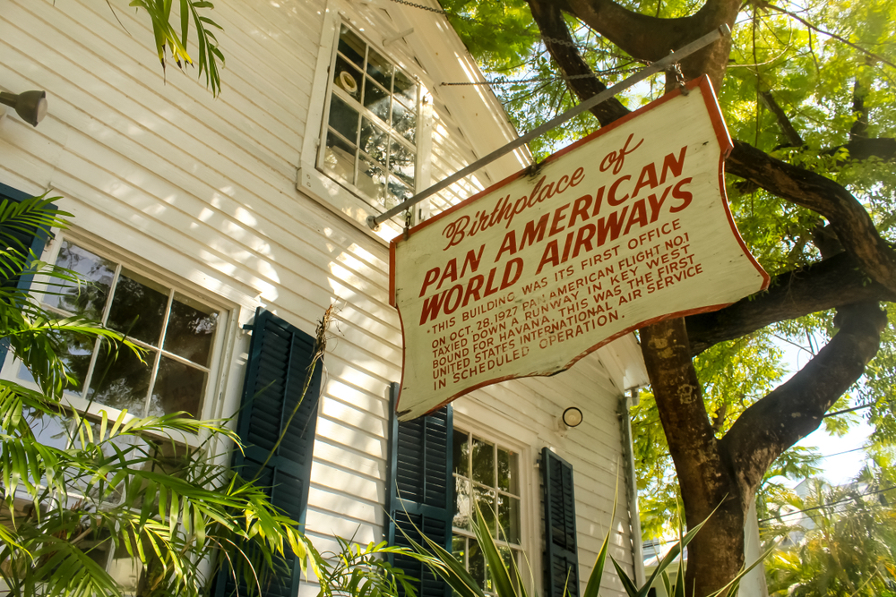 Key West: Birthplace of Pan American World Airways