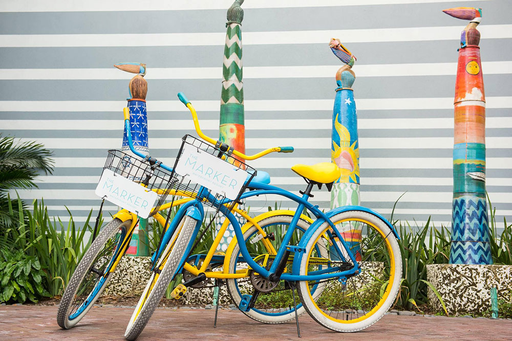 Marker keywest bicycle
