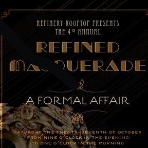 Refinery Rooftop's Halloween Masquerade Ball