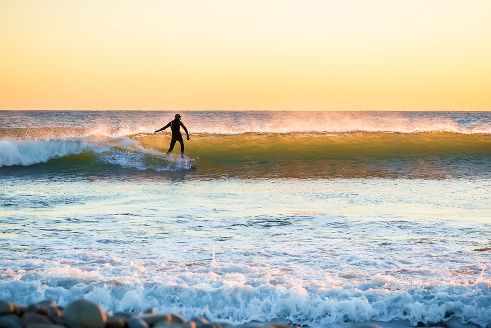 Put On Your Wetsuit Surf Year Round In