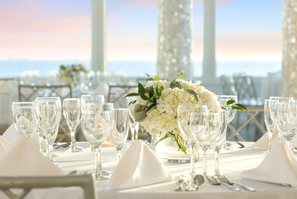 Wedding and Events hall table