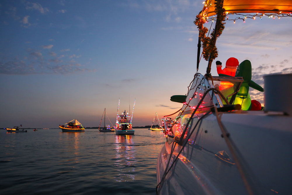 Don't Miss the KW Lighted Boat Parade
