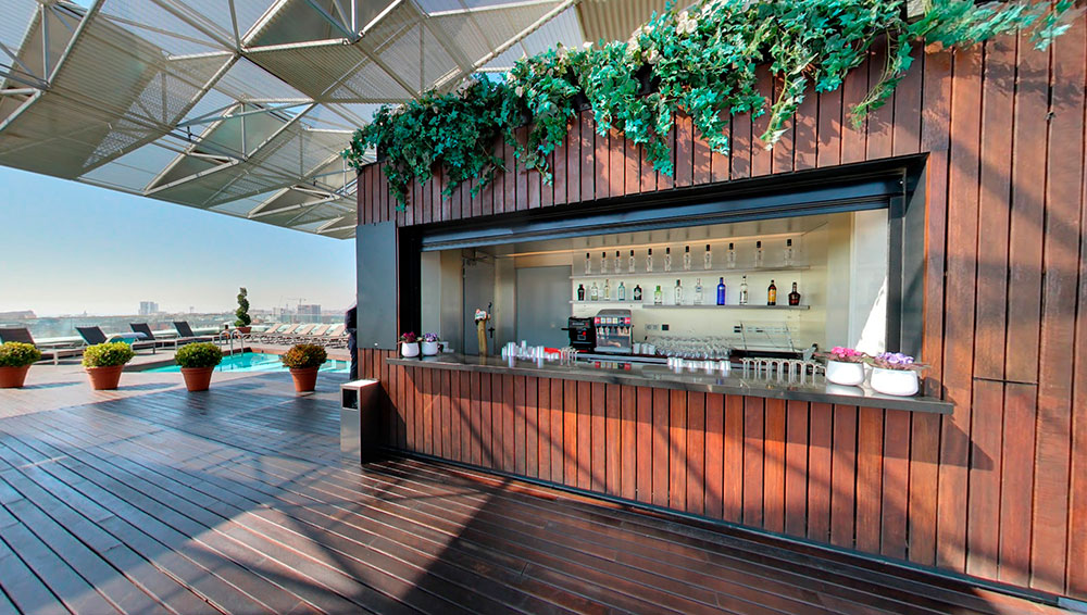 Live Music and a 360-Degree View of Barcelona from Our Rooftop Bar