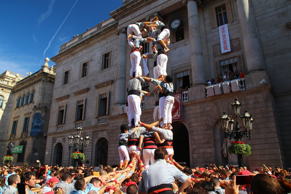 Human Castell Towers: A Barcelona Tradition