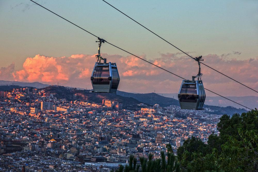Get a Breathtaking Bird's-Eye View of Barcelona
