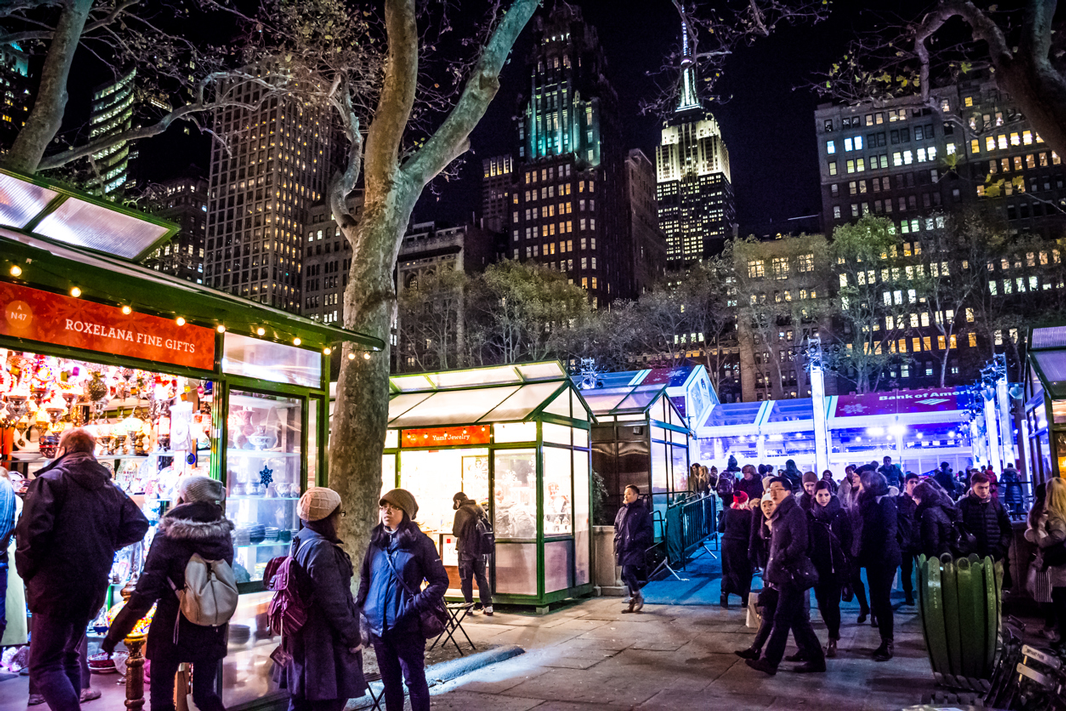 Top Holiday Markets in New York