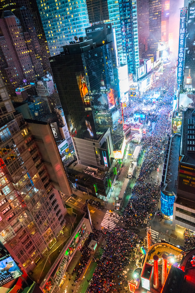 Where to Party on New Year's Eve in Times Square