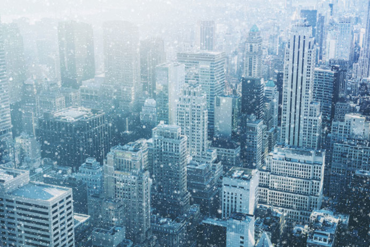 photograph-of nyc-skyline-on-snowy-day