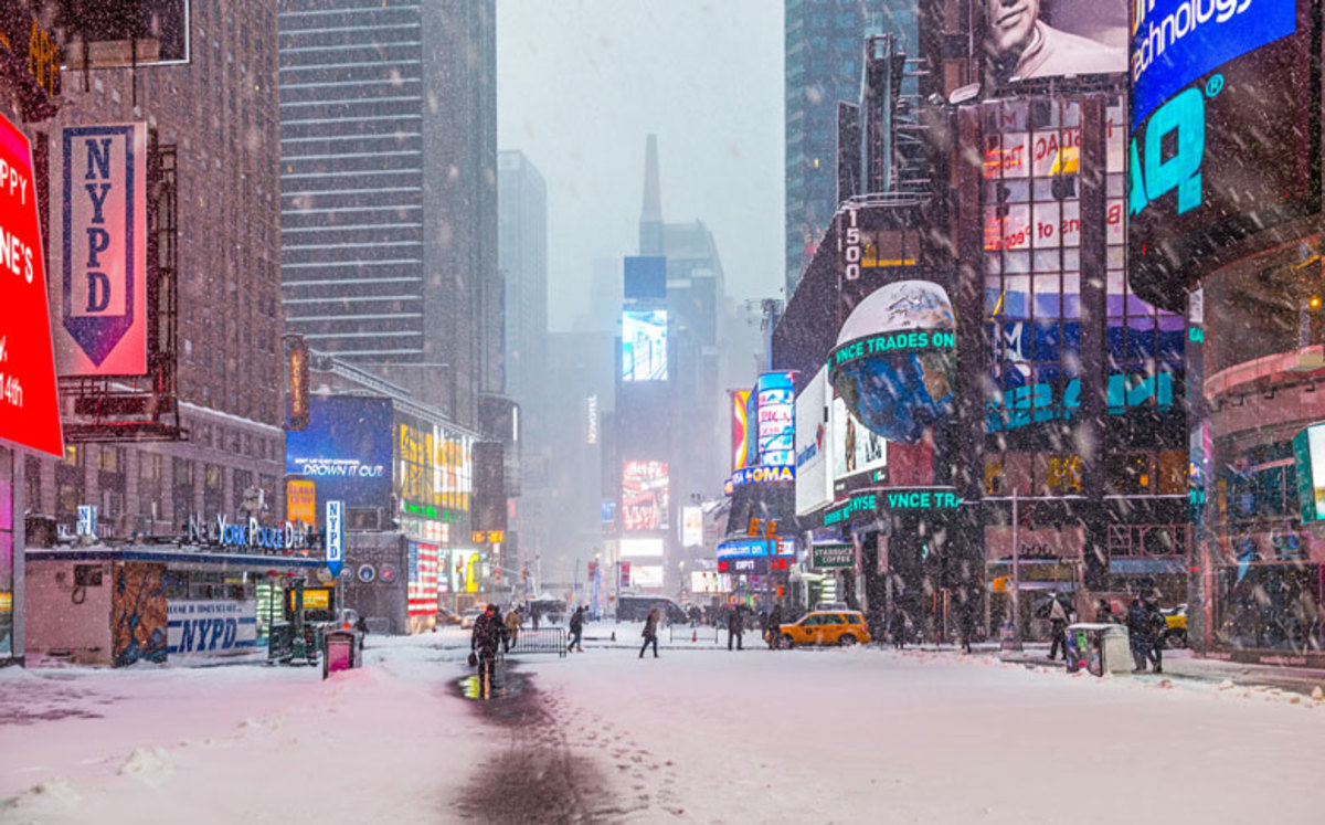 view-of-broadway-and-times-square-on-snowy-day