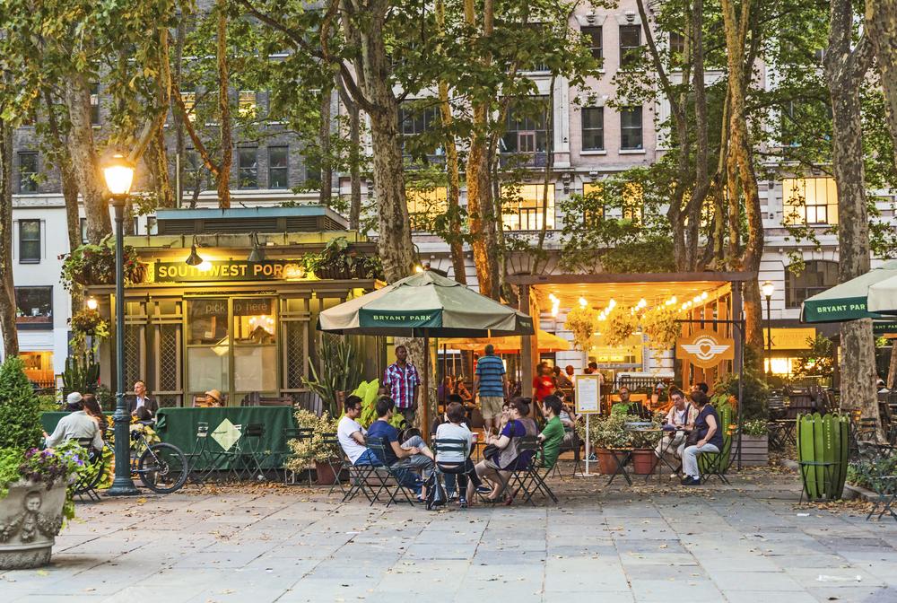5 Best Restaurants With Outdoor Dining In Manhattan