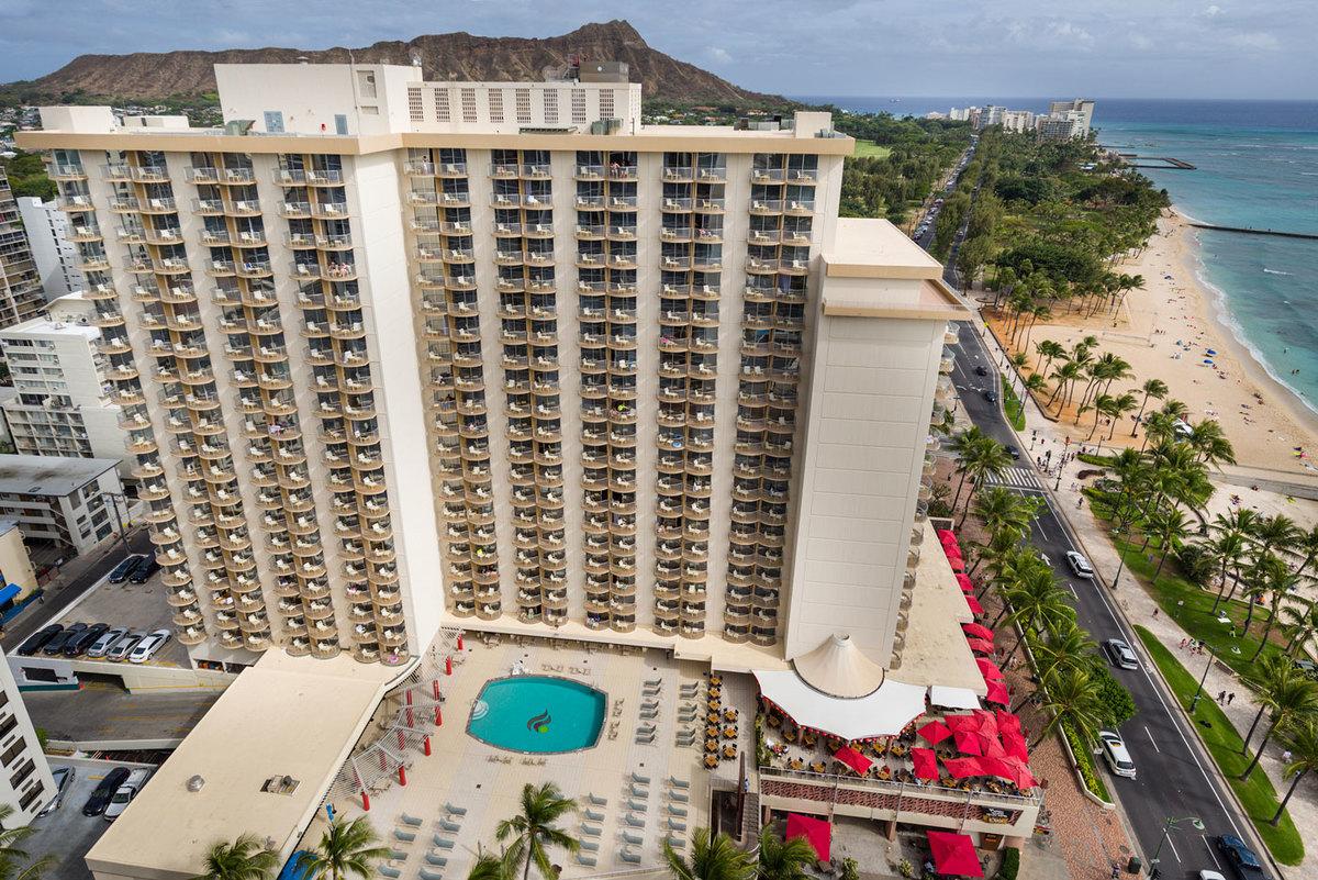 Waikiki Beach Hotels Aston Hotel