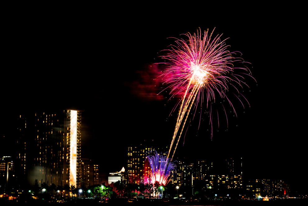 Ring in the New Year in Hawaii