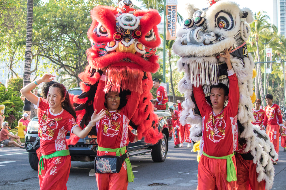 Celebrate Chinese New Year in Honolulu