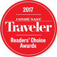 Conde Nast Traveler Readers Choice Award