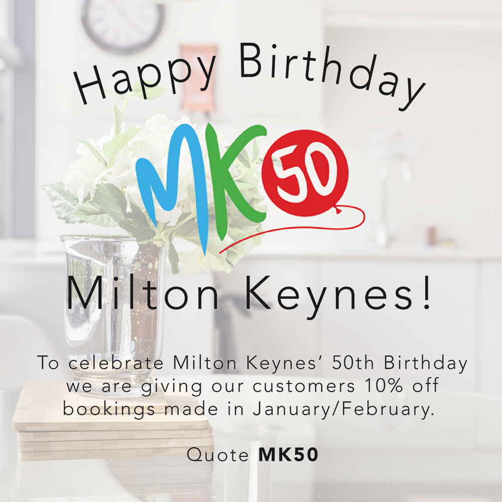Happy Birthday Milton Keynes