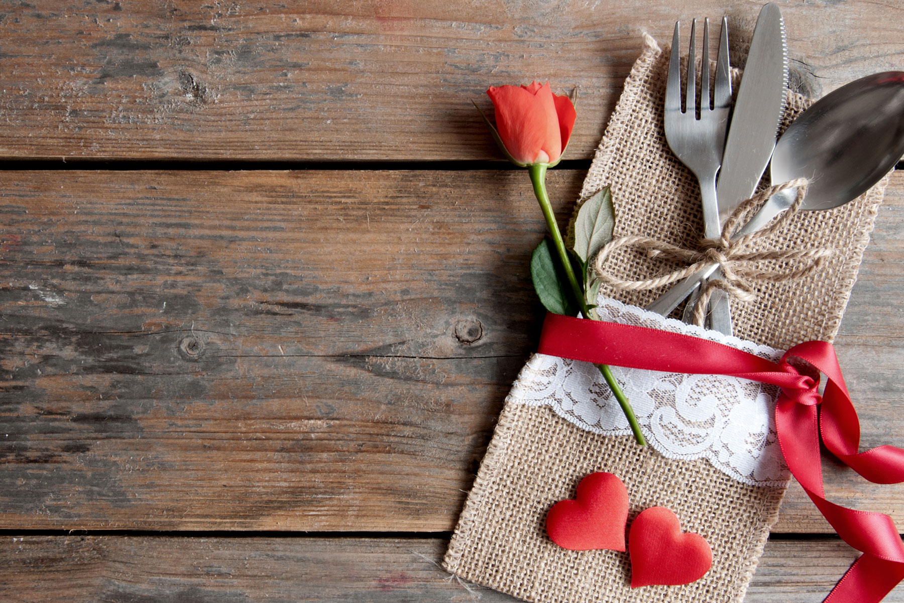 Romantic Meals for a Romantic Stay
