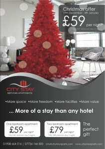 Relaxing stays for Christmas and New Year