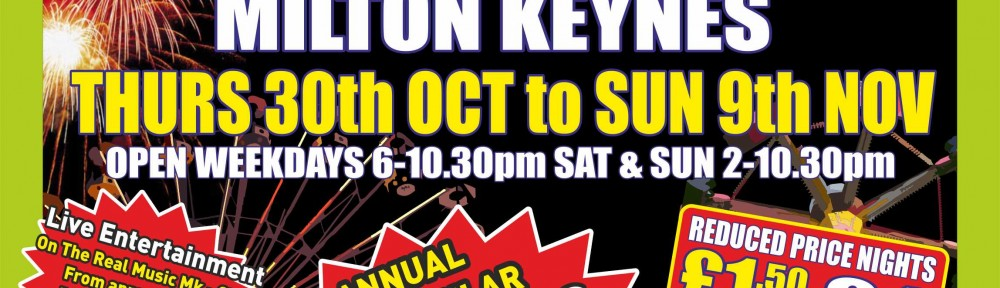 Milton Keynes Fun Fair and Fireworks Display