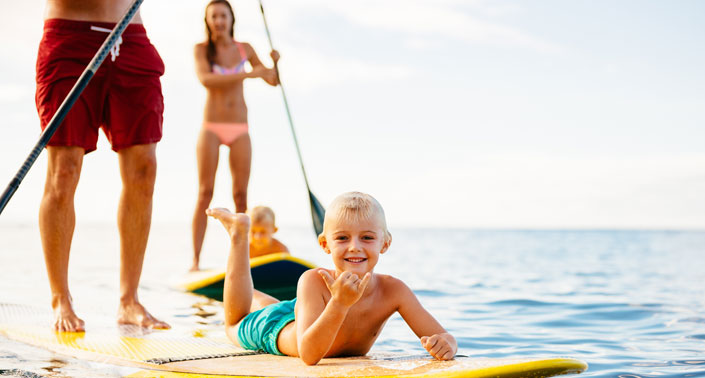 surf and paddleboard lessons