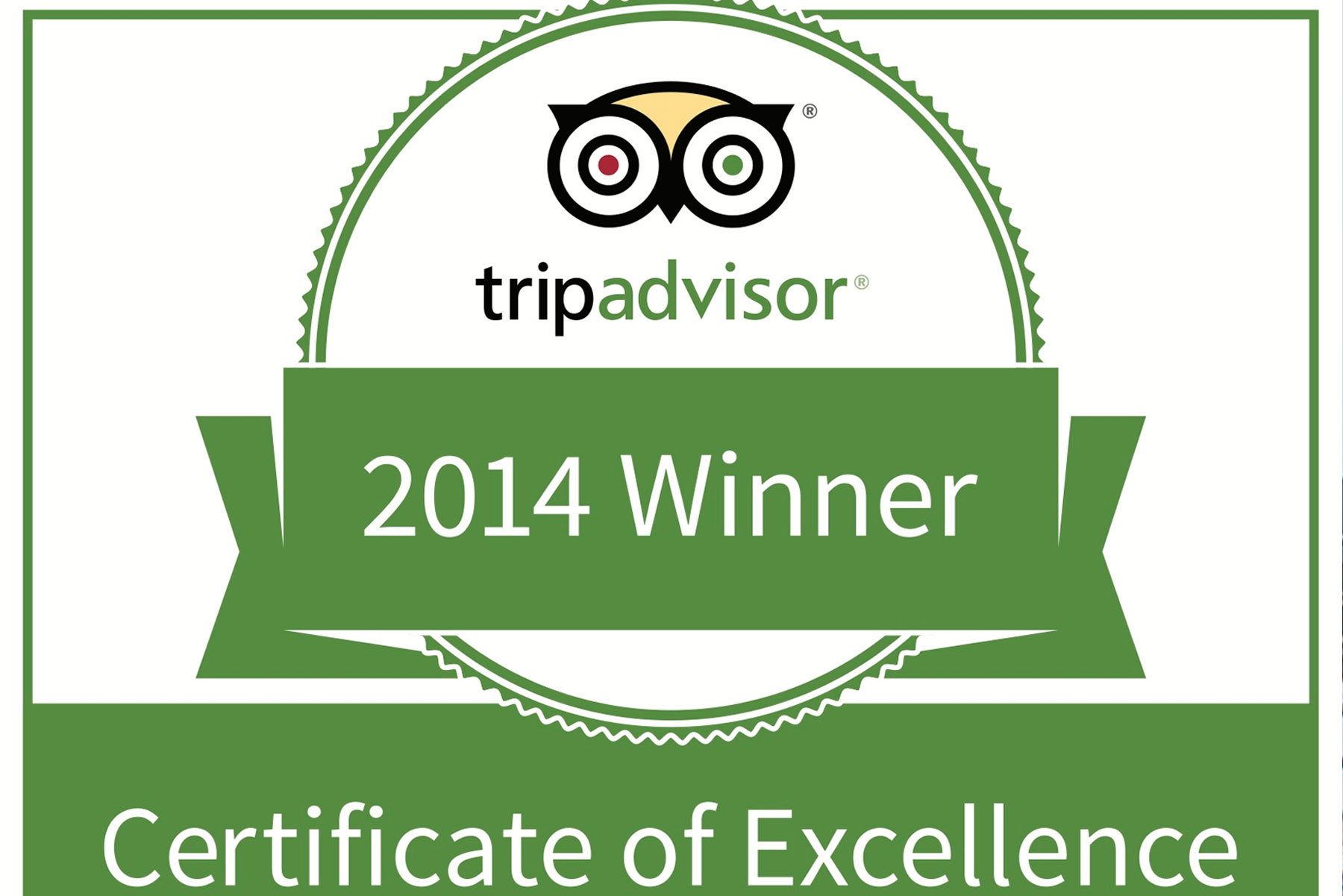 CRISTAL HOTEL ABU DHABI AWARDED 2014 TRIPADVISOR CERTIFICATE OF EXCELLENCE