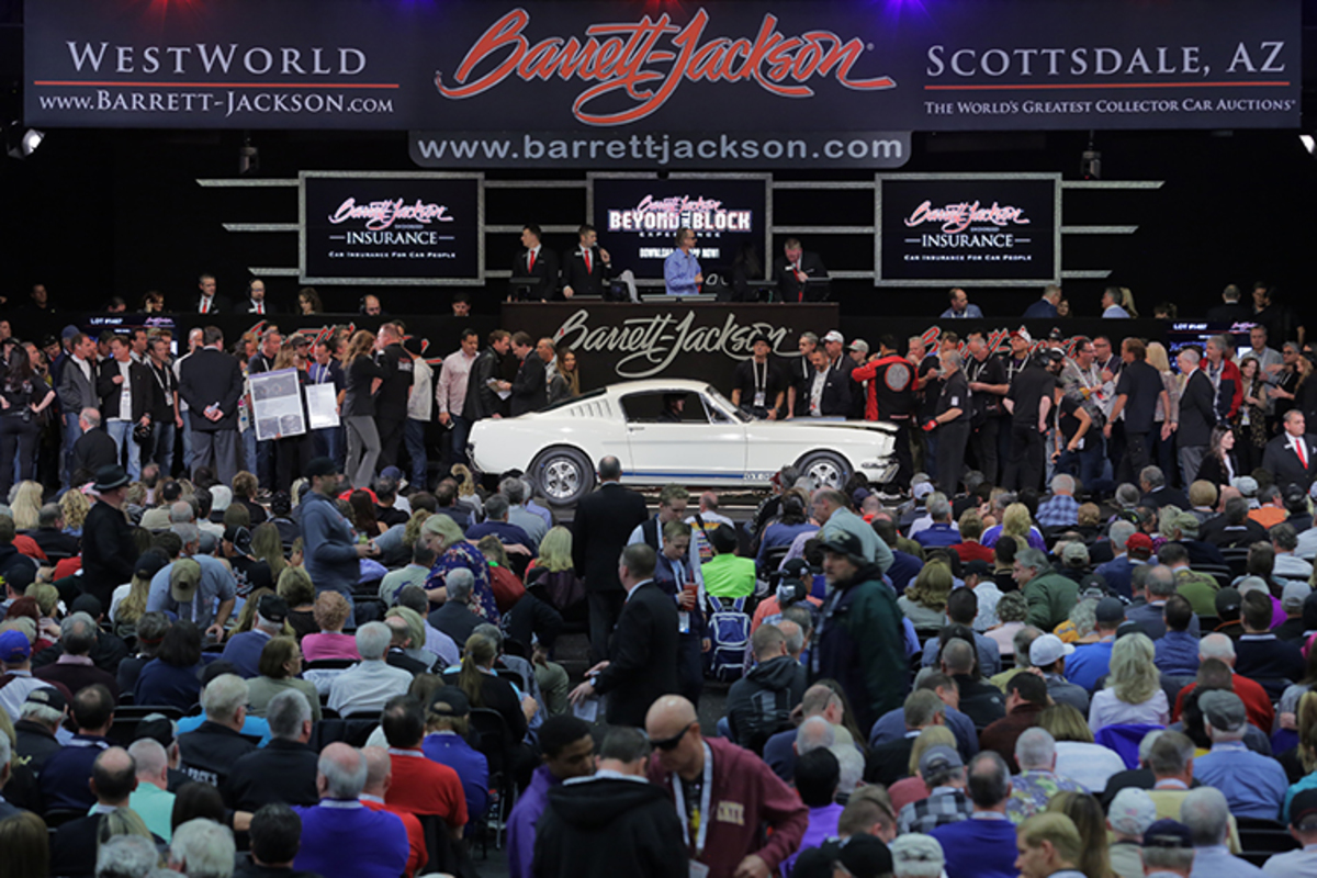 Barrett-Jackson Collector Car Auction Package