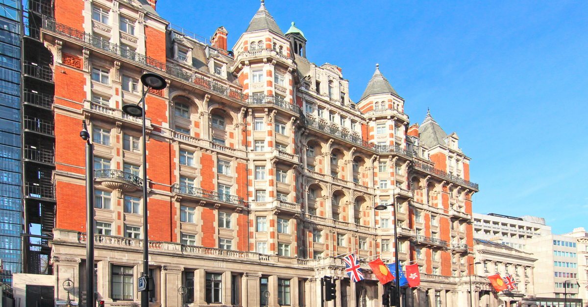 The Mandarin Oriental Hotel - an icon in Belgravia Knightsbridge