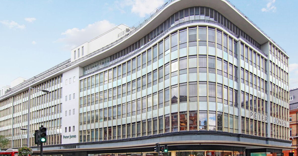 Peter Jones department store on Sloane Square