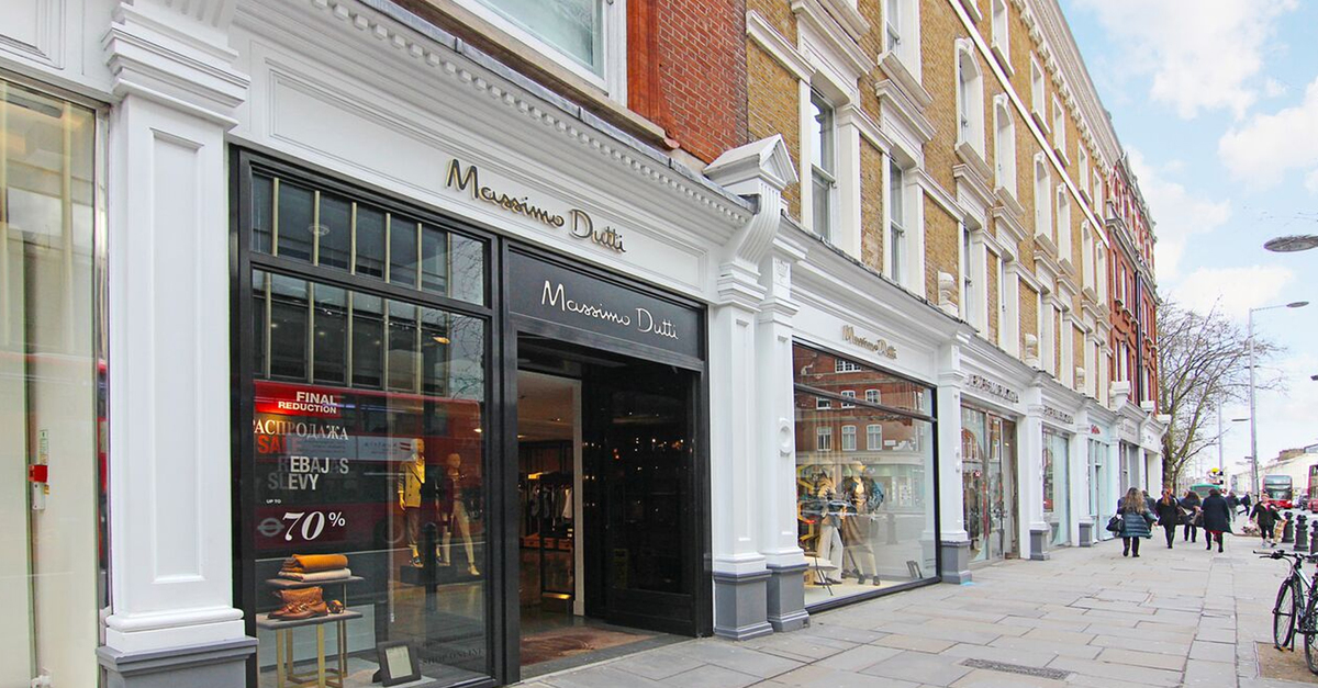 Massimo Dutti on King's Road, Chelsea