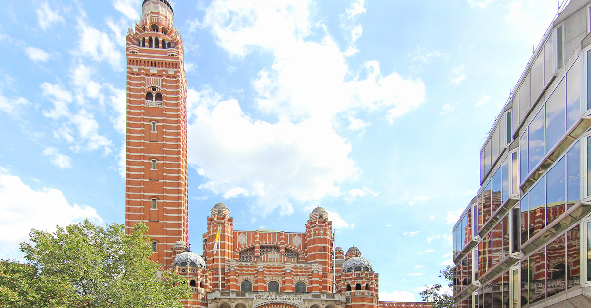 Westminster Cathedral on Victoria Street, Westminster