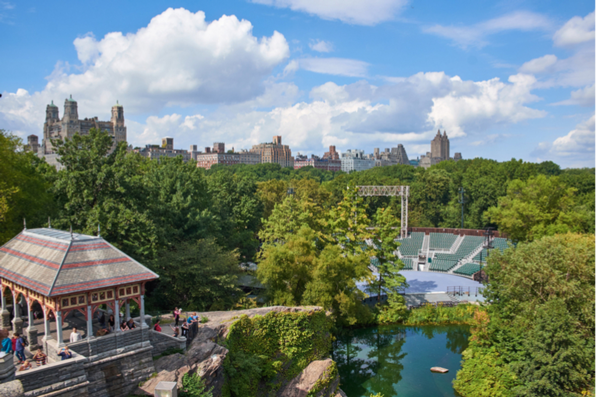 Image of Delacorte Theater in Central Park
