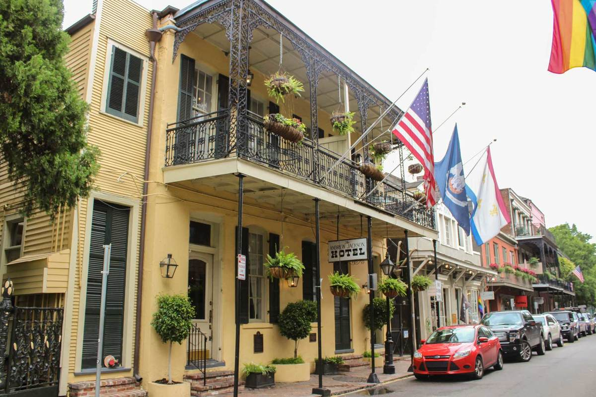 French Quarter Hotels >> Hotels In New Orleans French Quarter Andrew Jackson Hotel