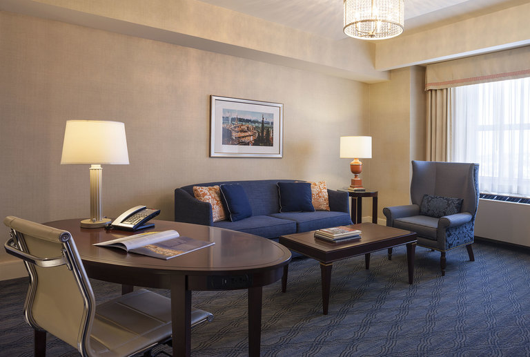Junior Suite Living Area