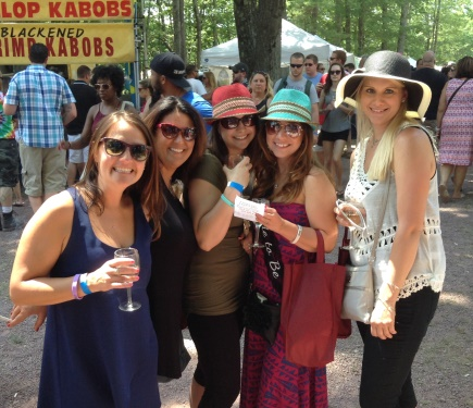 wine fest girls