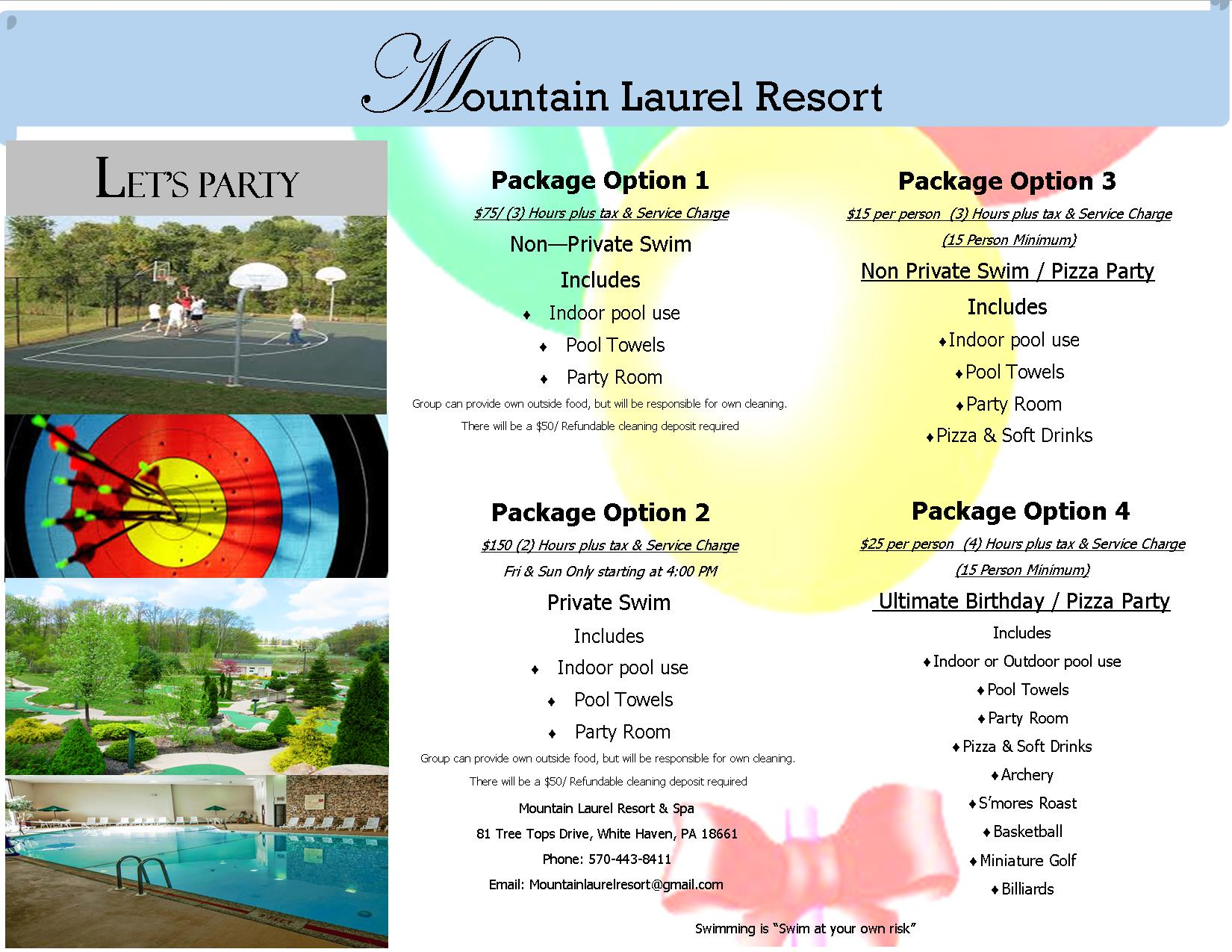 poconos resorts | activity breaks in the poconos pa
