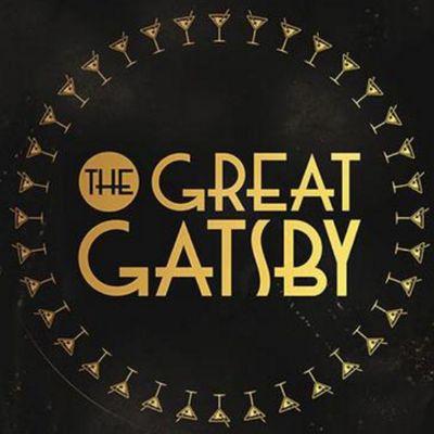 Christmas Great Gatsby logo