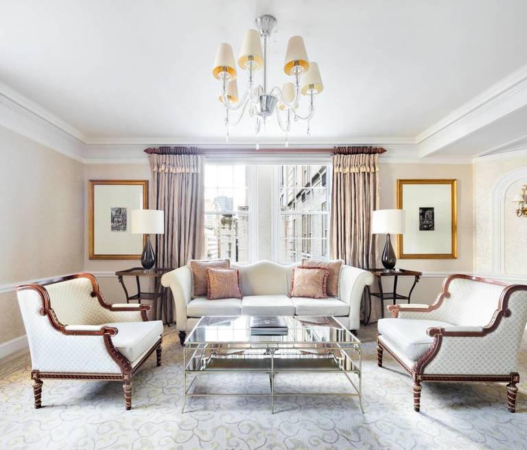 Two Bedroom Suites In New York City: Photos Of The Luxurious Pierre NY City Hotel