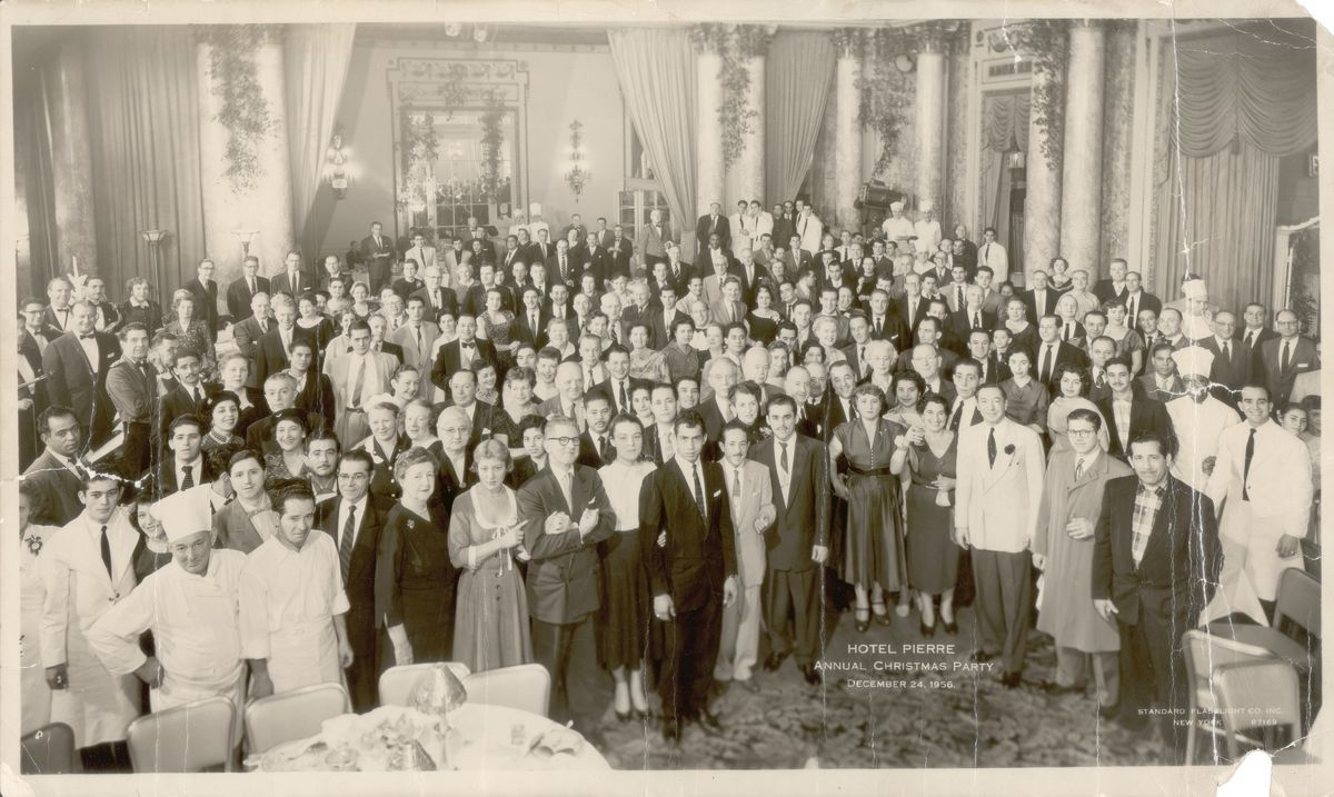1956 employee christmas party
