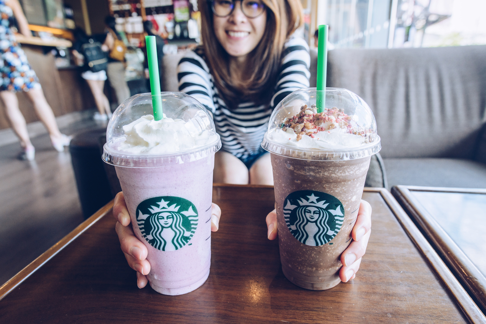 New Starbucks Drinks this Spring