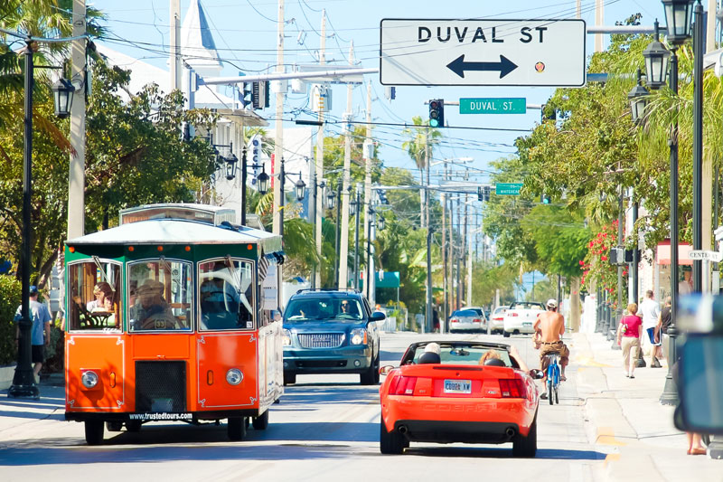 Duval Is Synonymous With Key West Located A Few Minutes From The Hotel Street Cuts Across Heart Of Old Town Connecting Gulf