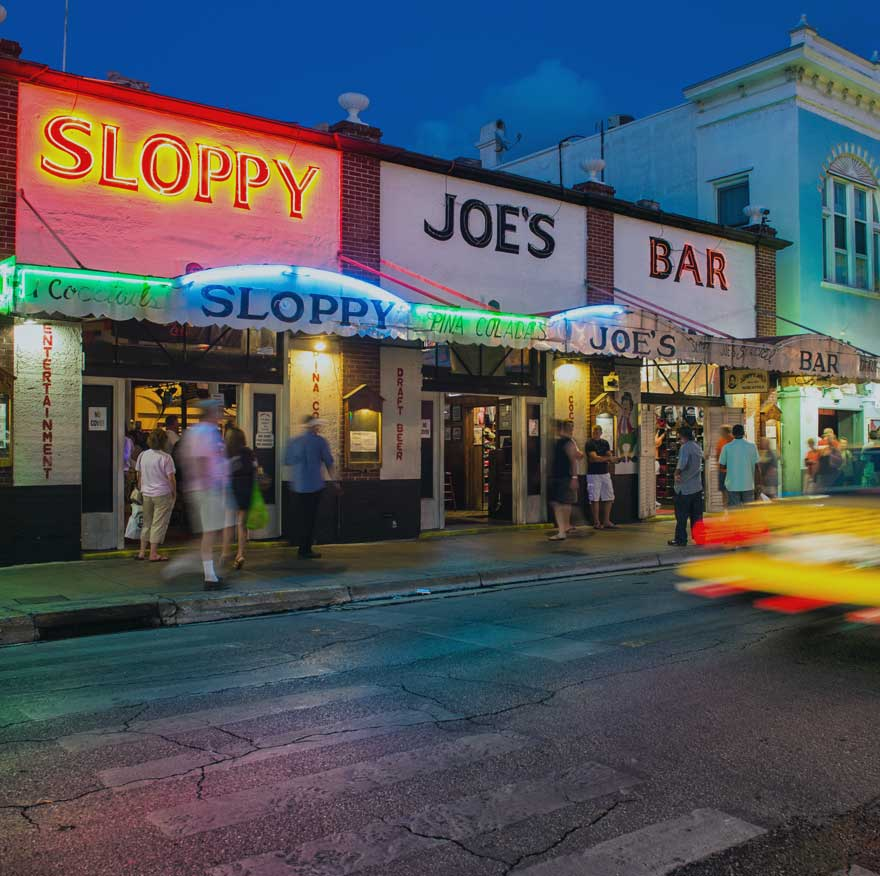 Sloopy Joe's bar