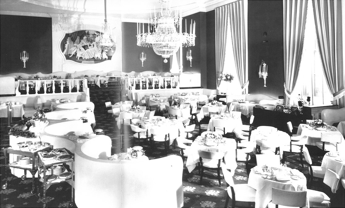 The Cotillion in 1950