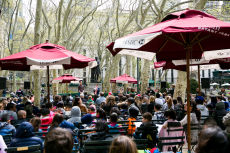 Bryant Park's 15th Annual Poem in Your Pocket Day Open Mic