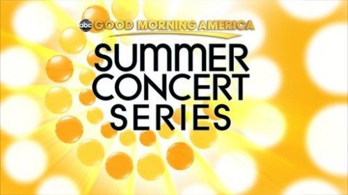 Good Morning America Summer Concerts 2017