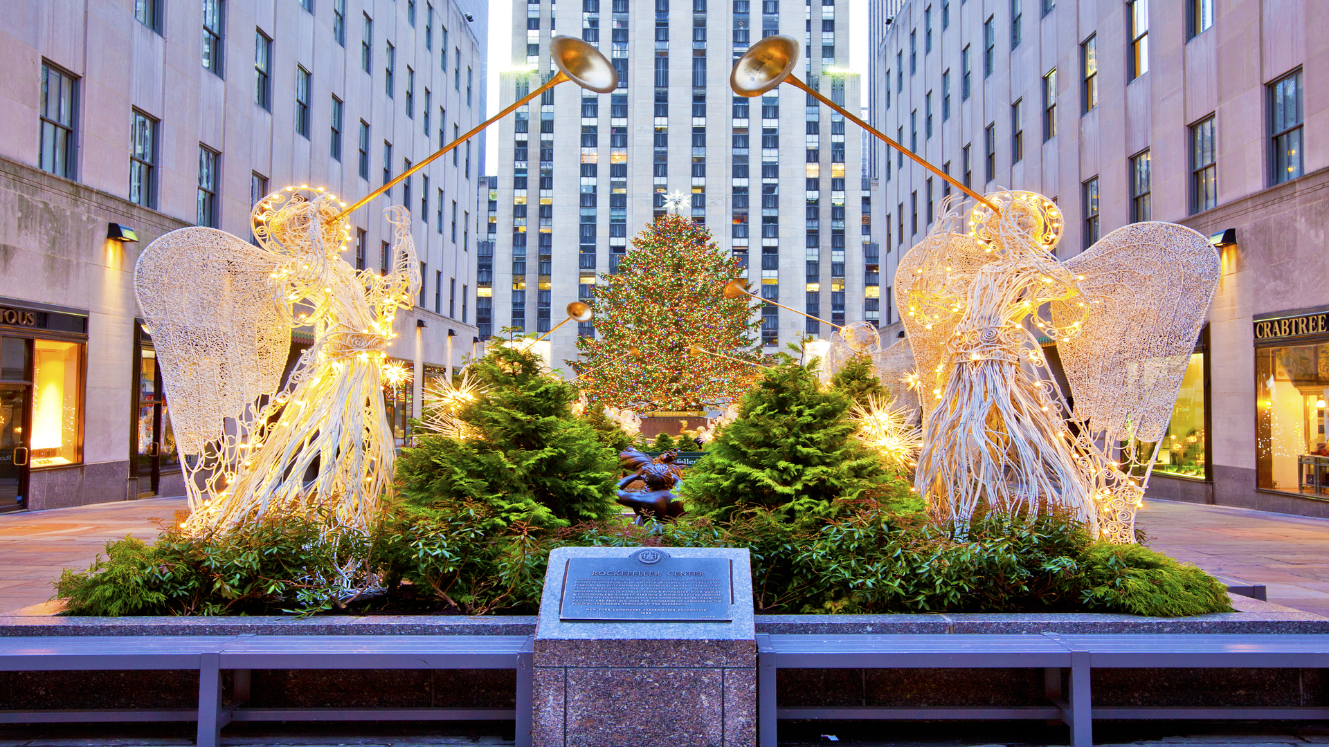 2017 Rockefeller Center Christmas Tree Lighting