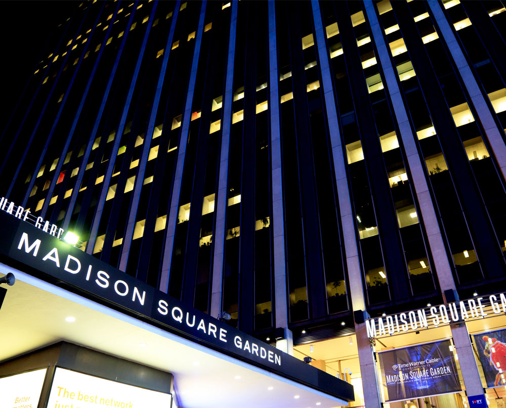 MADISON SQUARE GARDEN. Attraction