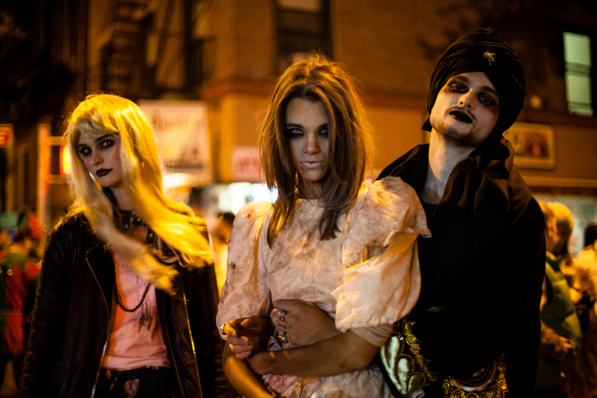 New York City Halloween Parade.Halloween Events In New York City