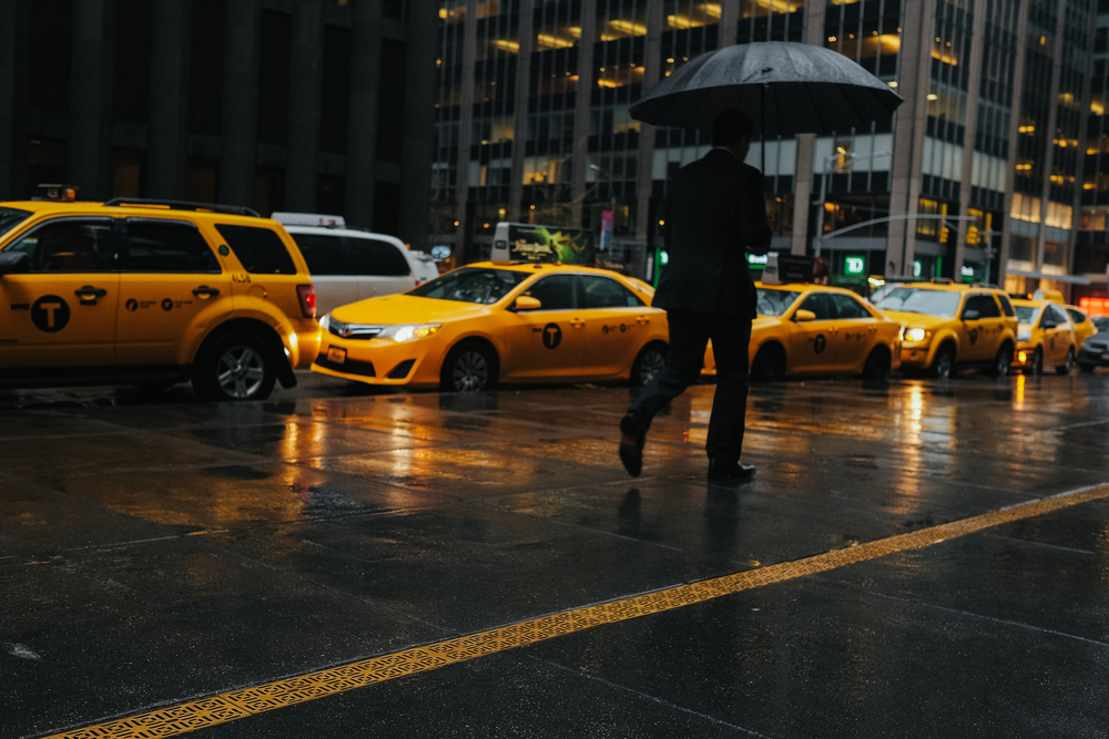 Rainy Days in New York City