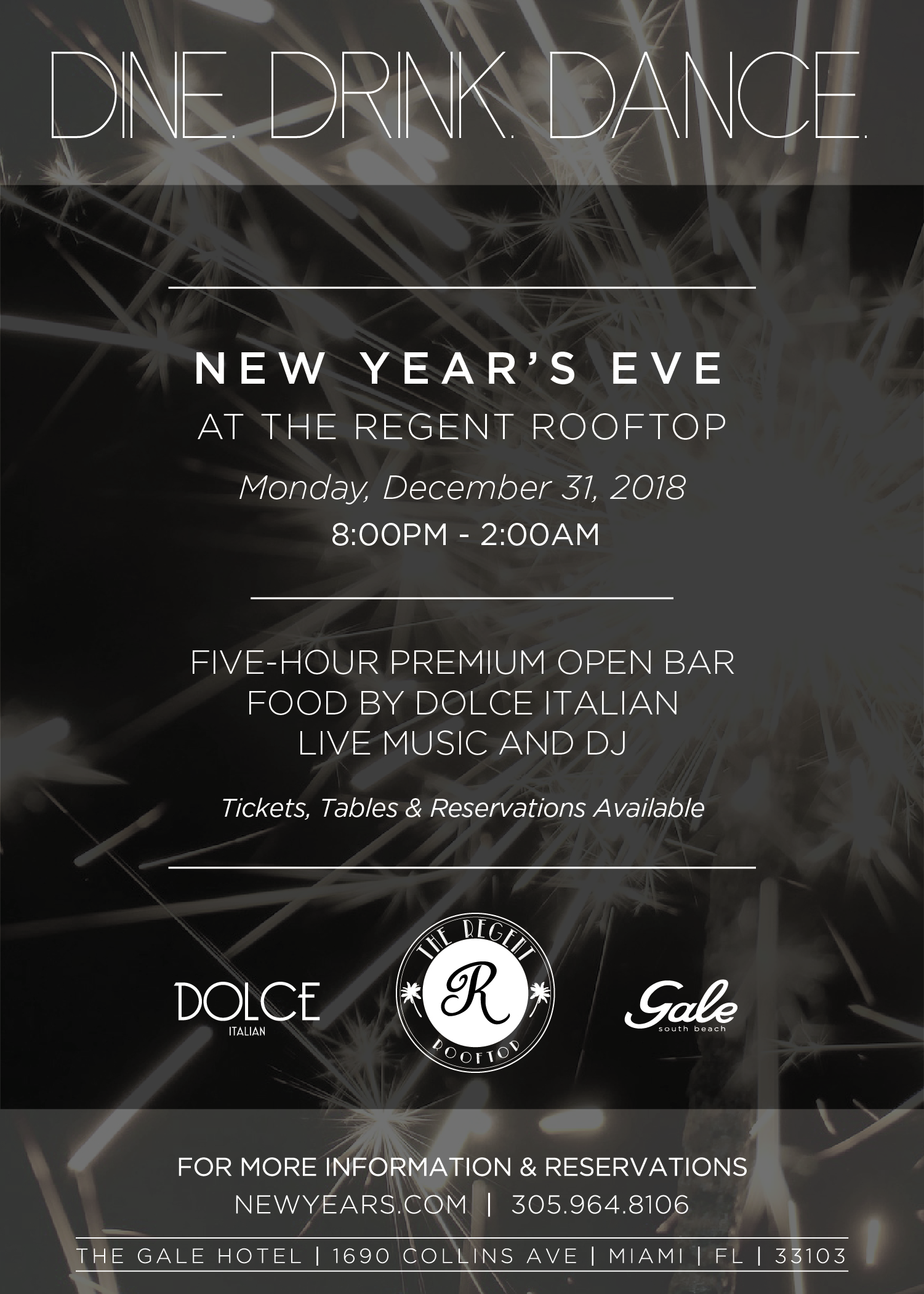 Gale New Years Flyer 2018